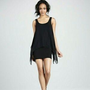 """Bailey 44 Black """"Manta Ray"""" Mini Dress"""